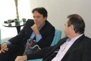 Encontro com Bispo Robson Rodovalho, da Sara Nossa Terra, e o Cônsul-Geral de Israel