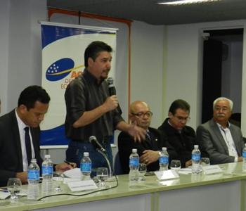 Posse do dileto amigo Donisete Braga, prefeito de Mauá, à frente da Agência de Desenvolvimento do Grande ABC