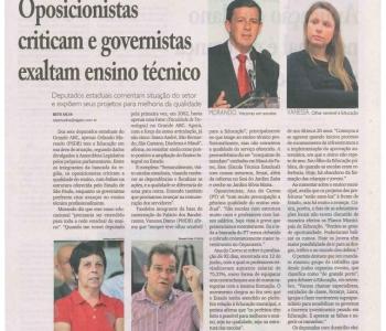Matéria publicada no Jornal Diário do Grande ABC