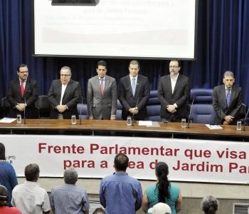 Lançada Frente Parlamentar que visa soluções para a área do Jd. Pantanal