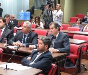 Comissão de Segurança Pública e Assuntos Penitenciários recebe representantes dos fornecedores de armas e munições para Polícia Civil e Militar do Estado de SP