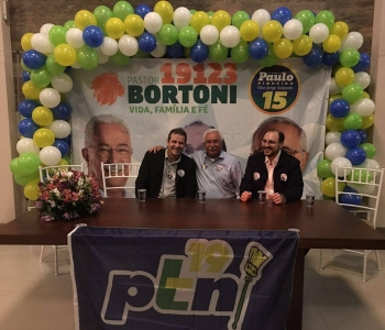 Lançamento da campanha do Pastor Bortoni em SCS
