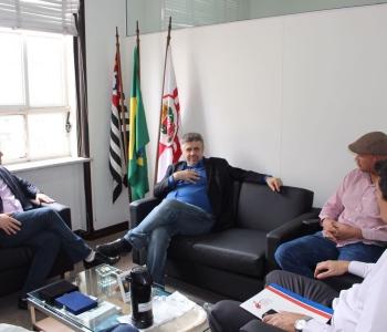 Audiência na Secretaria de Assuntos Governamentais de São Paulo