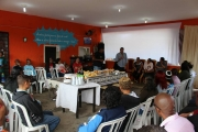 Encontro com lideranças em Vila Nova União