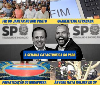 A semana do PSDB: uma trapalhada atrás da outra