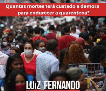 Estado de São Paulo perde o controle no combate à Covid-19