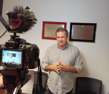 Deputado Luiz Fernando é entrevistado pelo Repórter Diário
