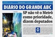 Metrô não é prioridade, diz oposição a Doria