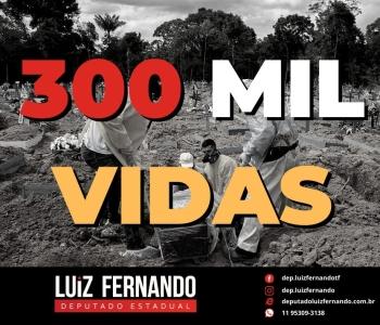 300 mil vidas perdidas