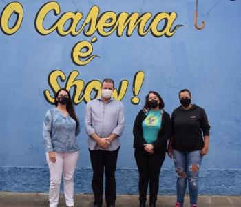 Coletiva de Mulheres recebe visita do deputado Luiz Fernando – Folha de Ribeirão Pires