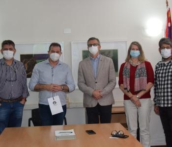 Deputado Luiz Fernando, do PT, esteve em visita à Universidade nesta segunda-feira (14) (site da Unicamp)