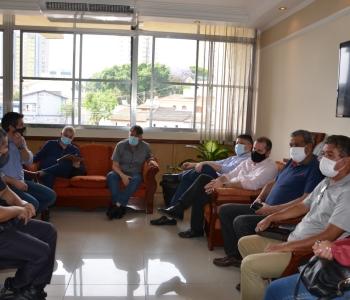 Parlamentares Eduardo Leite e Luiz Fernando buscam solução para os assaltos em Santo André