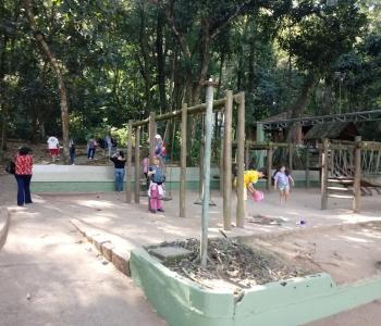 Emenda para revitalizar o playground do bosque de Águas da Prata
