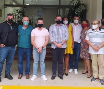 Deputado estadual Luiz Fernando (PT) repassa R$ 100 mil para a saúde de Bertioga (SP)